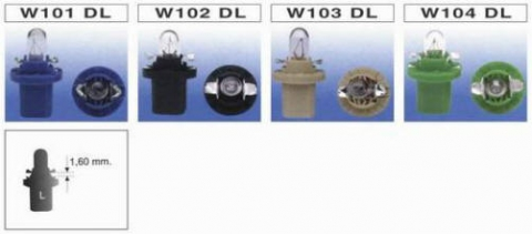 W101 DL ~ W104 DL