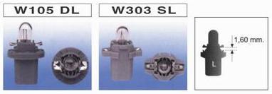 W105 DL / W303 SL
