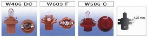 W406 DC / W603 F / W506 C